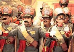 Presentación del coro 'Los dictadores' en semifinales