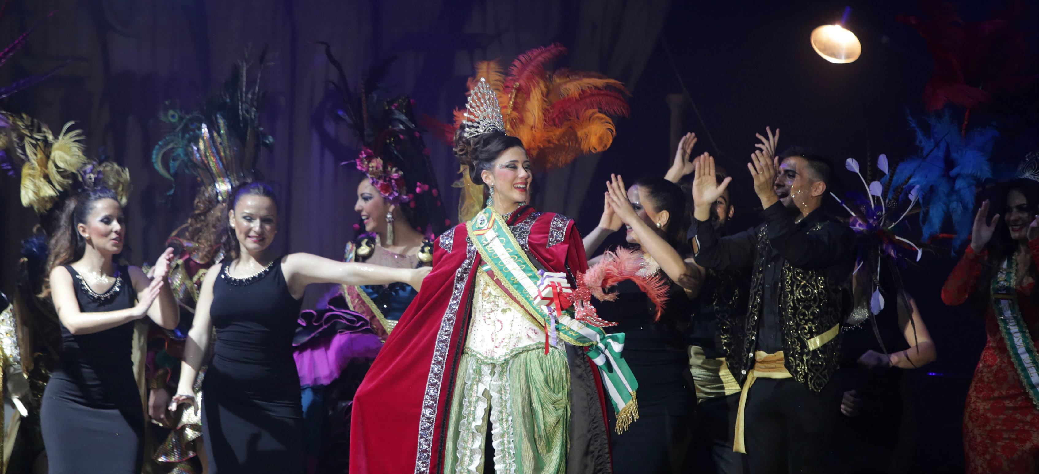 La noche mágica de Marta Rodríguez, Diosa del Carnaval 2015