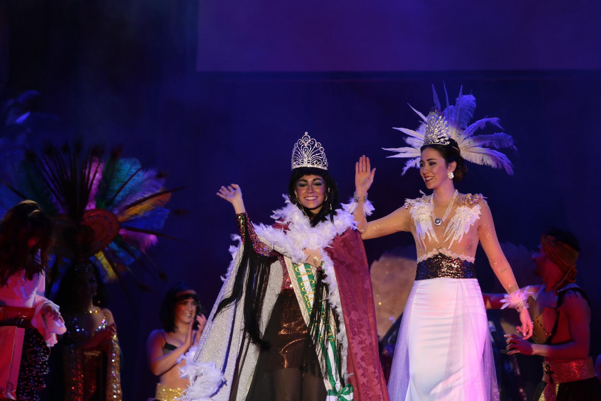 Ana Belén Bárcena es la nueva Diosa del Carnaval