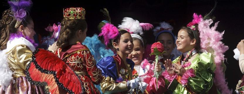 Los niños del Carnaval ya tienen diosa: Luna Jiménez Almerón