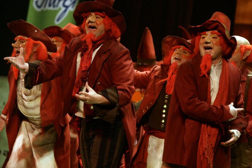 'Los duendes coloraos' dominó el Concurso en todas las fases