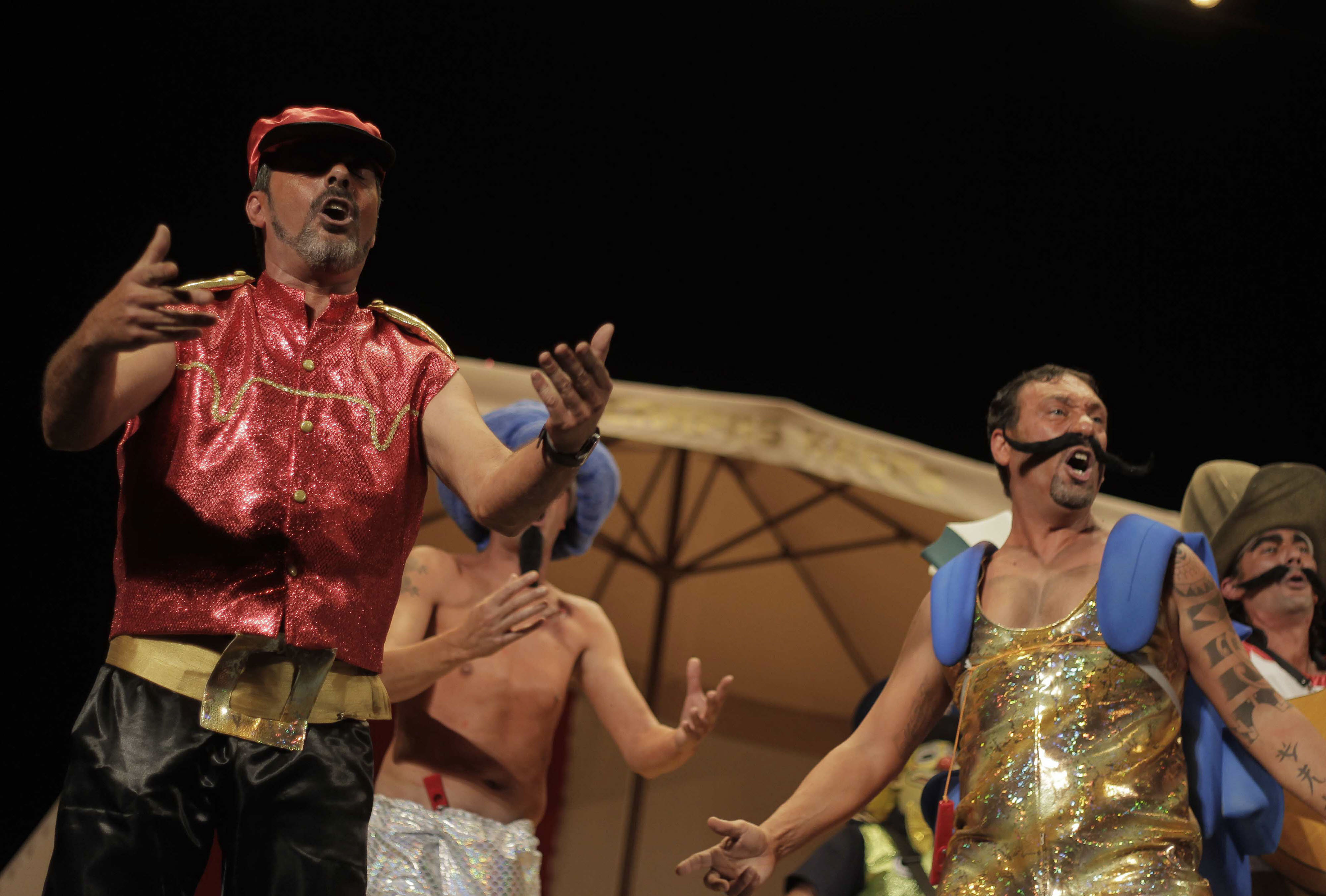 Cinco bajas dejan el Concurso del Carnaval de Cádiz con 132 grupos