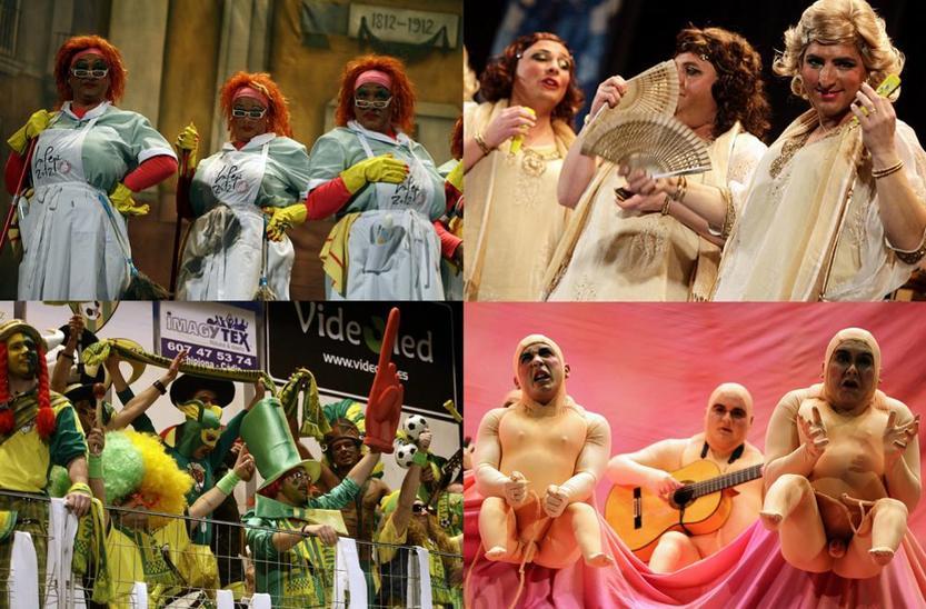 ¿Con qué vídeo te quedas de los cuatro más vistos en La Voz del Carnaval?