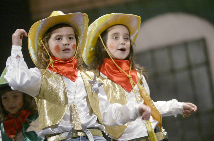 El Falla acoge esta tarde la Gala del Carnaval en la Escuela