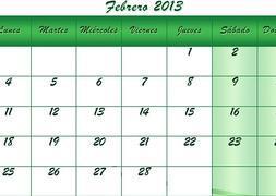 Calendario del Carnaval de Cádiz 2013