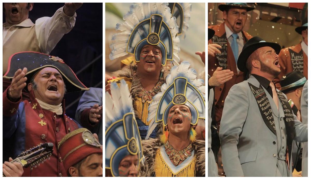 Orden de actuación de la Gran Final del Concurso del Carnaval de Cádiz 2015