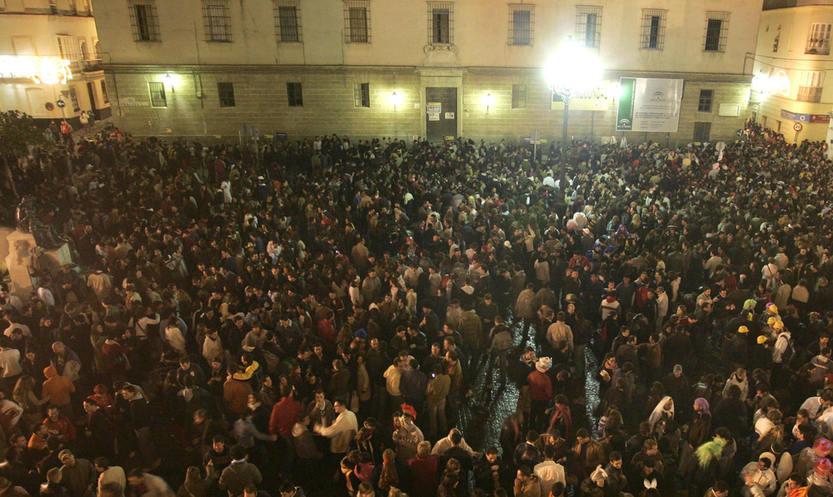 La Plaza Fragela recupera los actos carnavalescos durante la semana oficial