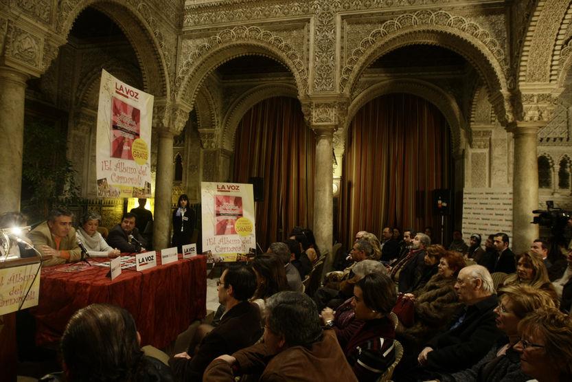 'La década prodigiosa' y el 'Tebeo en el Falla' se presentaron anoche