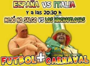 Una Eurocopa carnavalesca