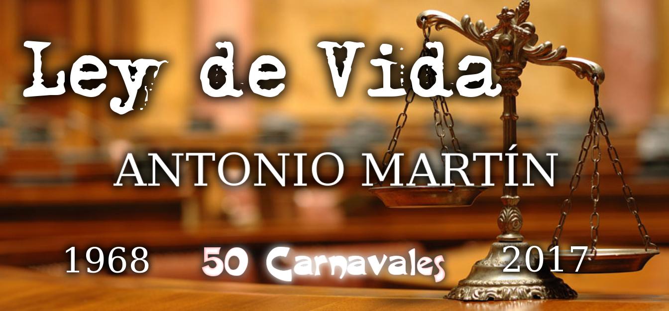 Antonio Martín celebra sus Bodas de Oro con 'Ley de vida'