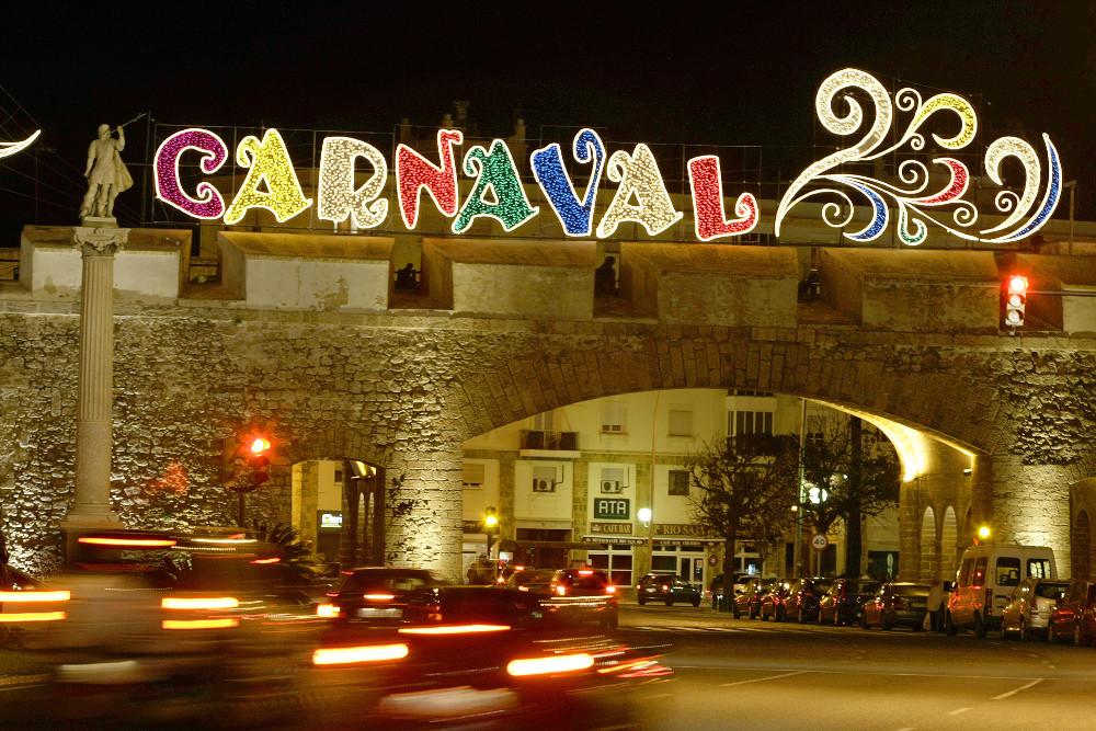 El Ayuntamiento estrena el próximo sábado, 21 de enero, la iluminación de Carnaval