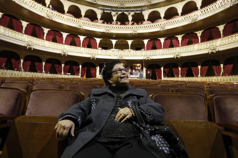 El Carnaval de Cádiz se viste de luto por el fallecimiento de María la Hierbabuena