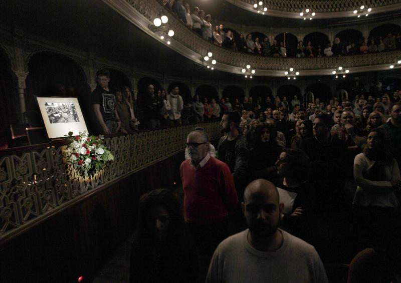 El palco 18 del Gran Teatro Falla recibirá el nombre de María la Hierbabuena