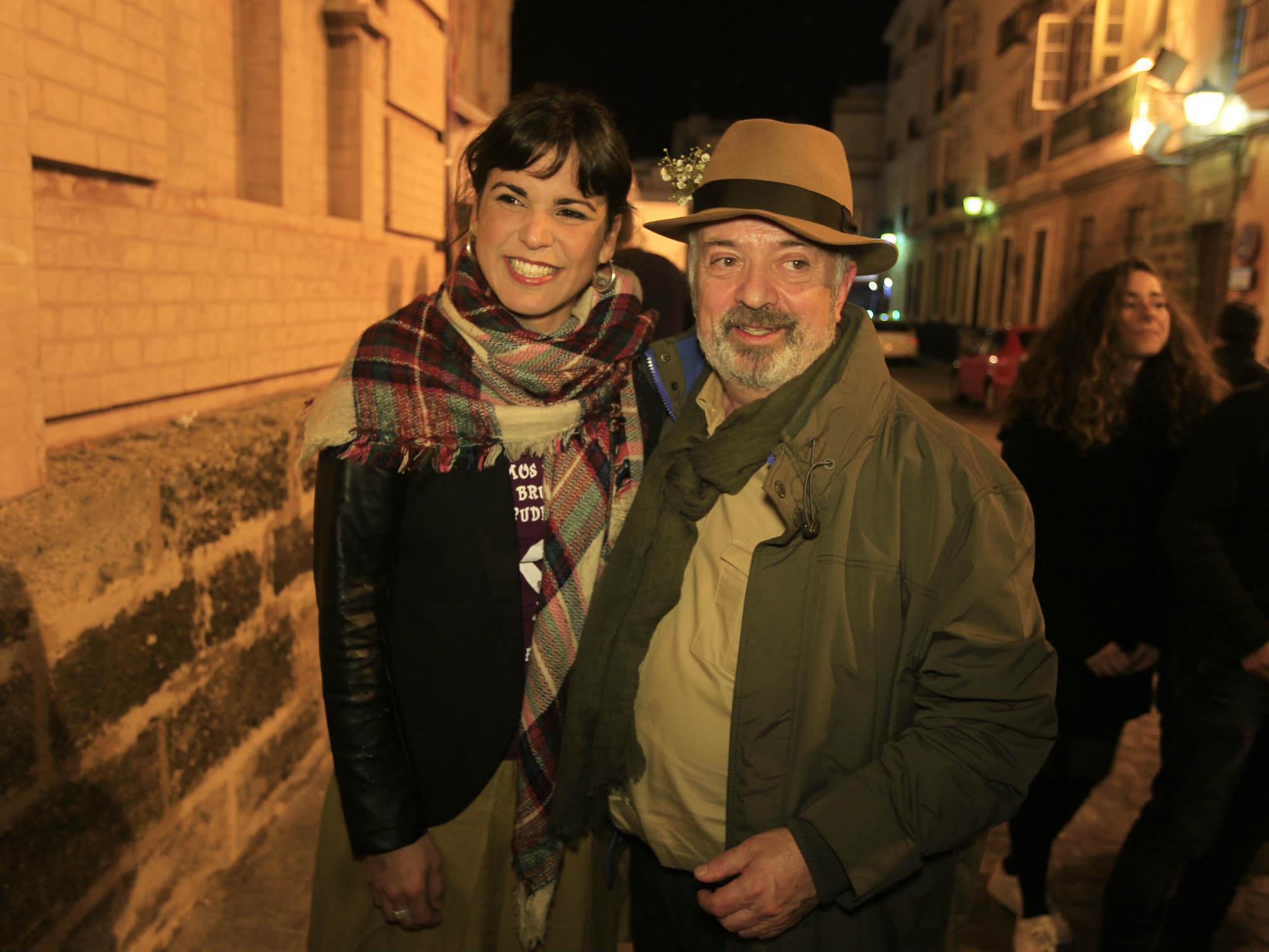 Antonio Martín y Teresa Rodríguez, unidos por la defensa de la mujer