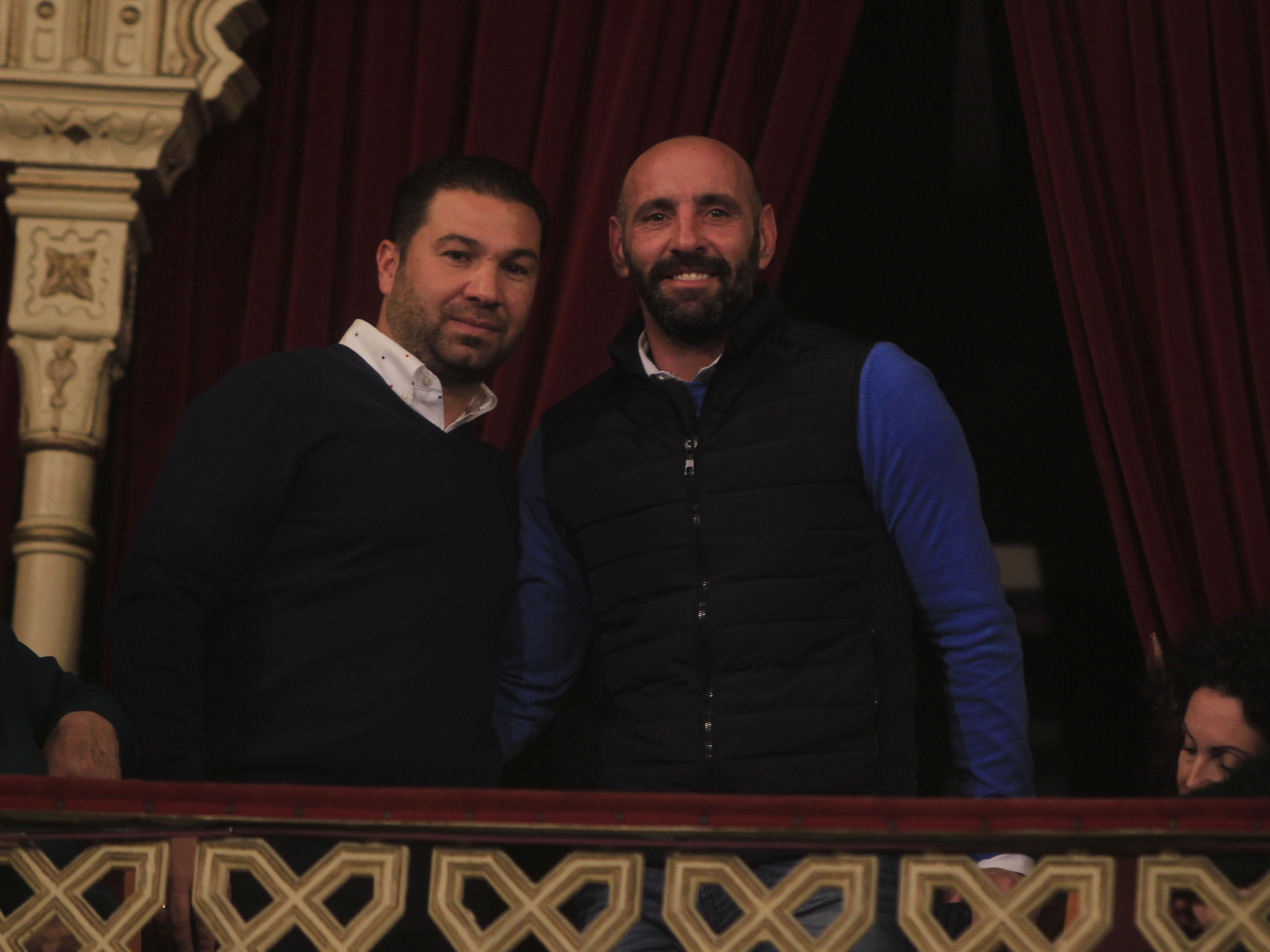 Monchi, en el Falla: «Para mí Juan Carlos Aragón es como el Sevilla»