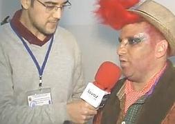 Entrevista a Nene Cheza tras su actuación con Los gallitos