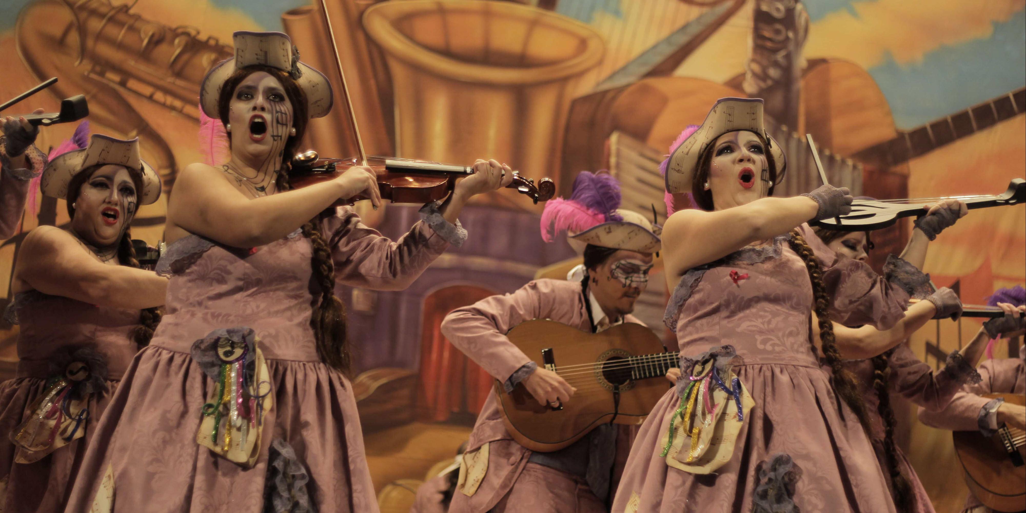 La comparsa femenina de Pastrana será 'Febrero' en el Carnaval 2016