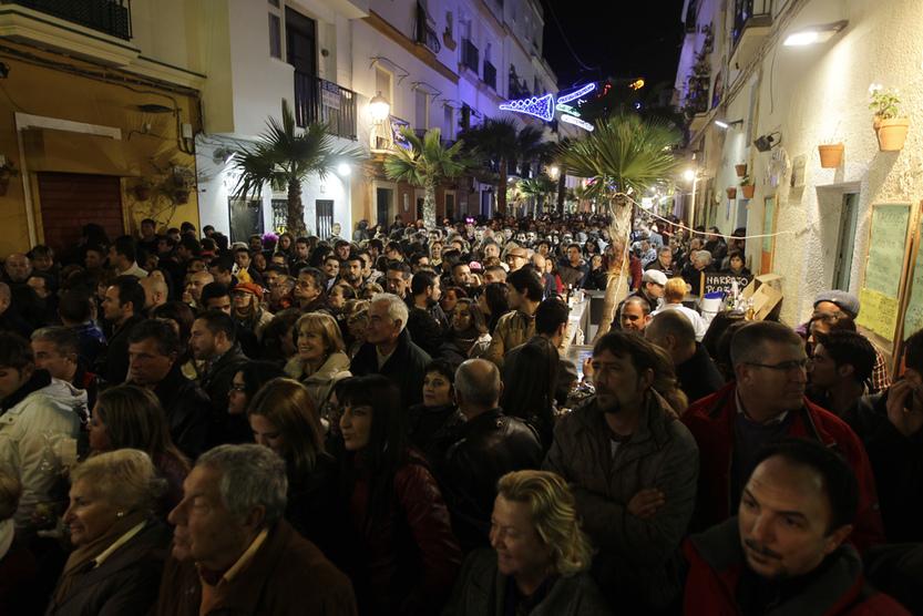 La final del tablao de La Palma reúne a miles de personas
