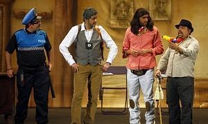 El cuarteto 'Los Polivalientes' recibe una penalización por excederse en el tiempo de actuación