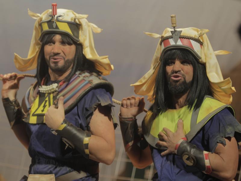 Los polvos egipcios