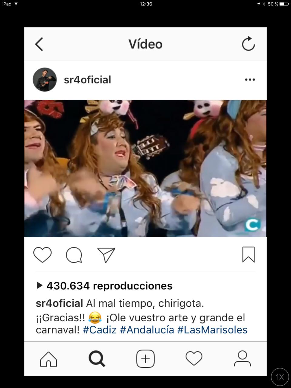 Sergio Ramos y otros famosos apasionados del Carnaval