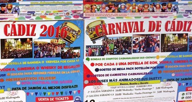 La llamada del carnaval salvaje salta a Sevilla