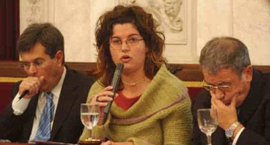 Tatiana Sánchez sustituye a Esther Gil en el jurado del COAC