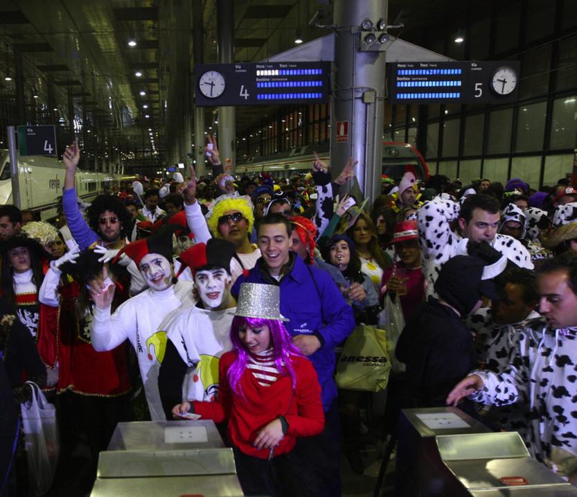 Renfe ofertará más de 200.000 plazas durante el fin de semana de Carnaval