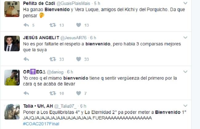 El polémico fallo del Jurado: Bienvenido vs Martínez Ares