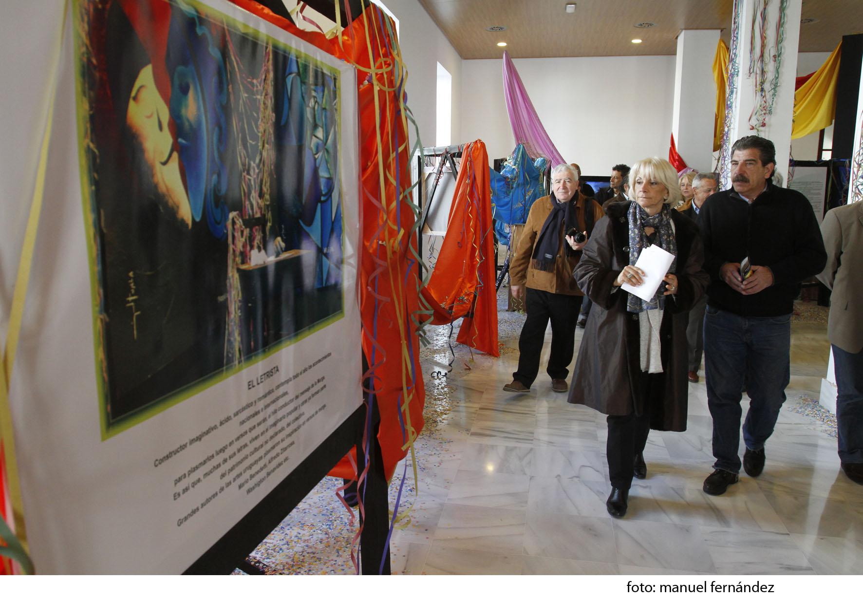 Inaugurada la muestra del Carnaval de Uruguay