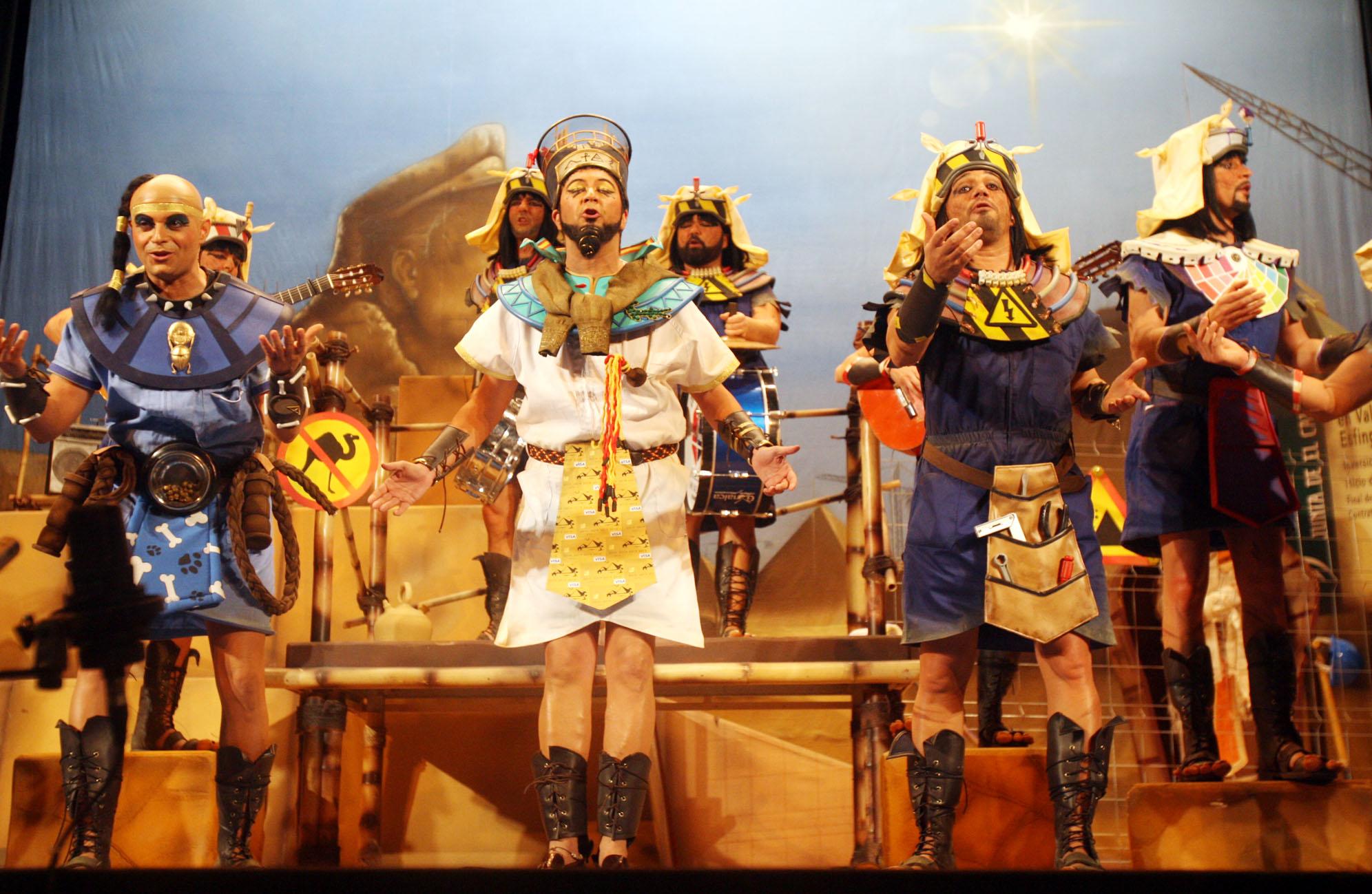 Reyes y faraones defienden su corona