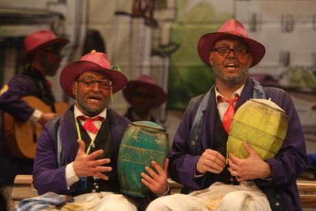 Actuación de la chirigota Cari tenemos toda la eternidad Écija 2018 Carnaval de Cádiz