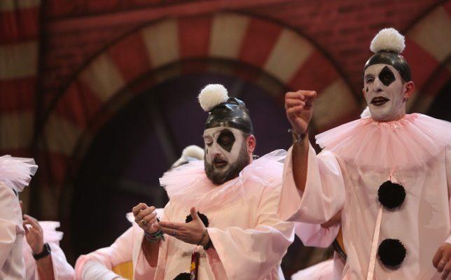 Actuación de la chirigota En la ciudad de Cádiz Tony Rogriguez Carnaval 2018