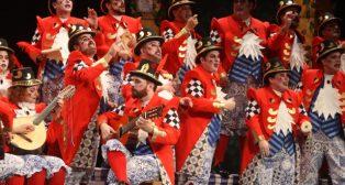 Actuación del coro Y, sin embargo, te quiero Carnaval de Cádiz
