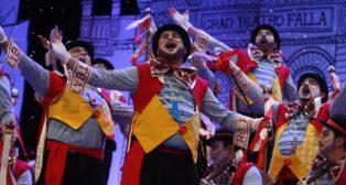 'Don taratachín', coro de Julio Pardo y Antonio Rivas. Carnaval de Cádiz 2018