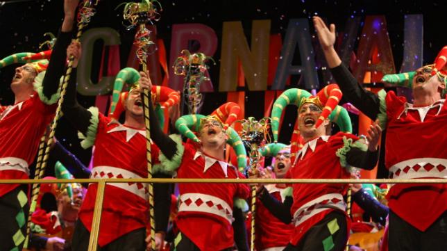 'La octava maravilla', comparsa de El Puerto de Santa María. Carnaval de Cádiz 2018