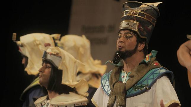 Los polvos egipcios en el COAC 2017
