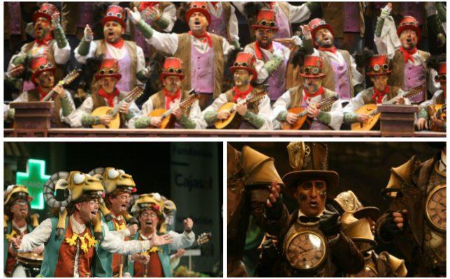 Los ganadores del Concurso de coplas de la peña La Estrella del Carnaval de Cádiz 2018