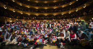 El Carnaval de Cádiz triunfa en El Liceo de Barcelona
