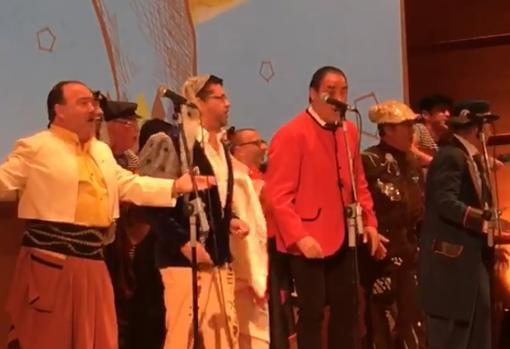 Actuación de 'Los cleriguillos'