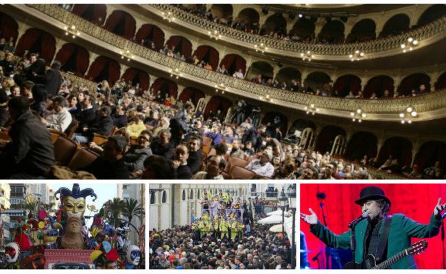 Actos del Carnaval de Cádiz 2019