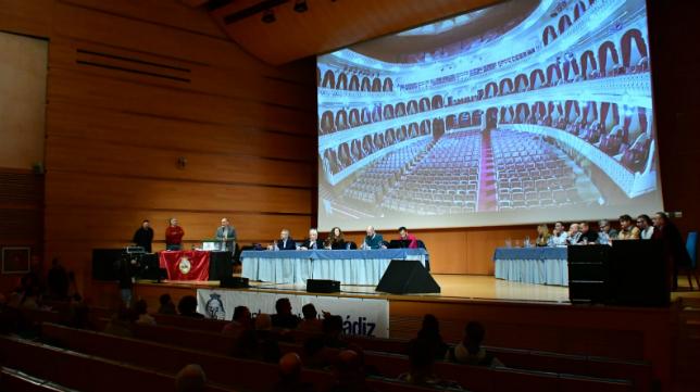 Sorteo del COAC 2019 del Gran Teatro Falla.