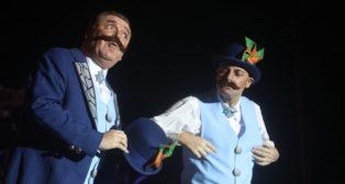 Imagen del COAC 2019 en el Carnaval de Cádiz. El tango se escribe con tiza