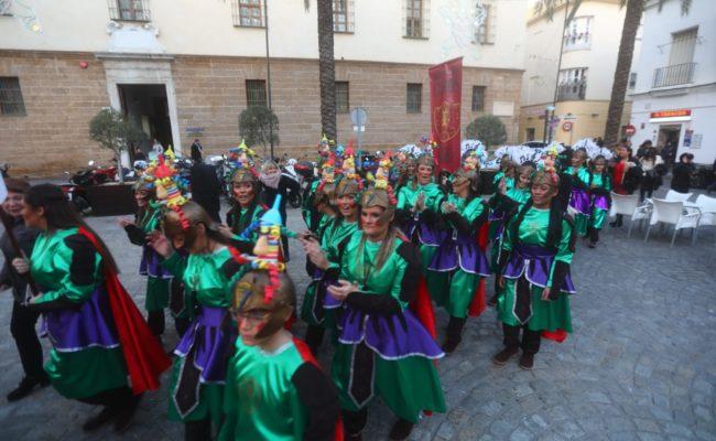 Agrupaciones juveniles del Carnaval de Cádiz 2019