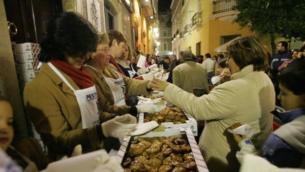 Pestiñada Popular del Carnaval de Cádiz