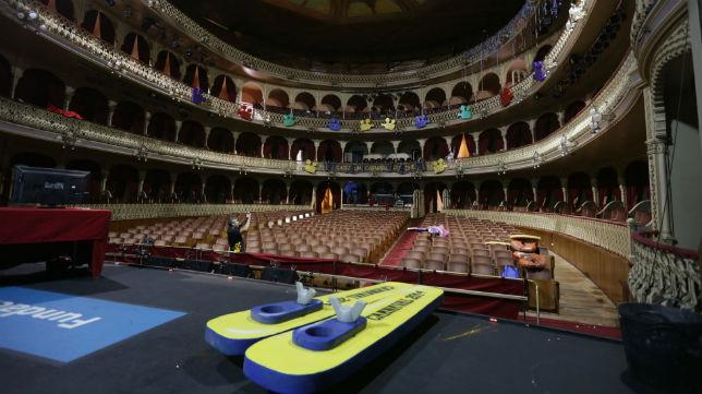 Interior del Teatro Falla