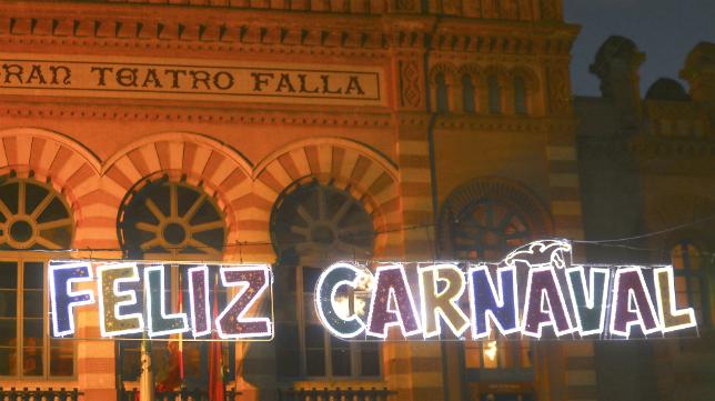 Carnaval en el Gran Teatro Falla