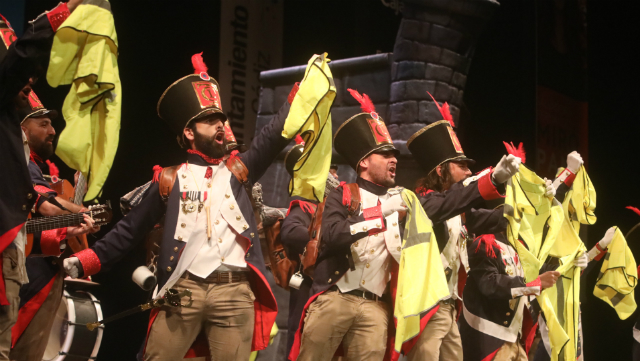 comparsa La trupe, de Madrid.