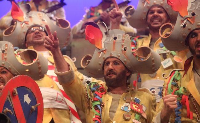 El coro Los Batallitas en el COAC 2019
