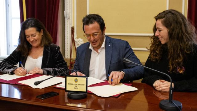 Convenio Ayuntamiento y Cruzcampo.